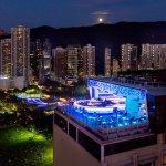 SKYE at The Park Lane Hong Kong, a Pullman Hotel - rooftop bar and restaurant