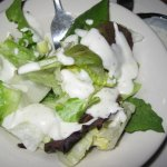 Side Green Salad with creamy Ranch