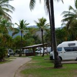 Van / Motorhome / campers sites,and B.B.Q. under roofed area.