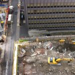 Three Building sites can be seen from this angle