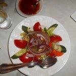– salad.