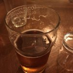The Dolaucothi Arms - my pint of Sunshine, a golden ale from Monty's Brewery, Powys
