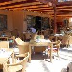 Terrasse extérieure Restaurant TINDAYA