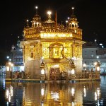 Harmandir Sahib at Night