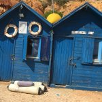Typical fisherman's huts