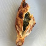 Mom spinach & cheese pide