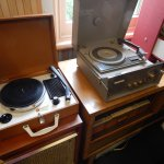 They even have record players!