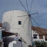 One of the group of four Leros Windmills