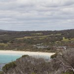 A distant view of the rest and Bunker Bay