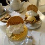 Coppa di gelato.