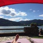 Sonnenbaden am hoteleigenen Seezugang