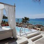 Spa terrace