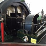 Working steam engine
