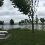 View of Lake Winnebago across the street.
