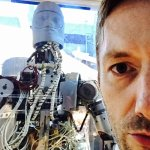me and a NASA robot