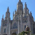 collina di Barcellona dalla quale si gode uno stupendo panorama di tutta la città