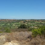 View from furthest point on Fald toward villas and clubhouse