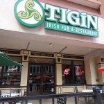 Outside Tigin Sign