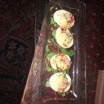 Lobster Devilled Eggs
