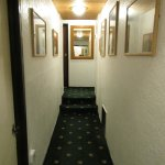 Some narrow corridor spaces first floor access
