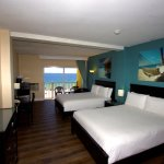Oceanfront Two Queen Bedded Room