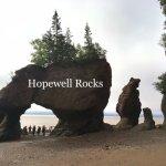 Hopewell Rocks Foto