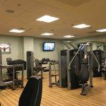 Gym on ground floor