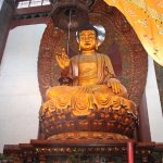 Buddha statue at nearby Temple