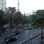 Room view - Boulevard du Bercy and railway station