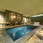 The beautiful Baker Spa, located in the lower level of the main house.