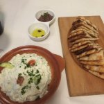 Love the Tzatziki and Pita bread!