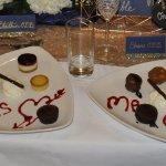 Bride & Groom's Dessert Platter