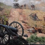 A shot of the Cyclorama