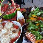 Buffet de saladas Restaurante Bistrô