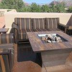 Splendid Large Outdoor Seating Areas,  BW Plus Inn of Sedona, AZ