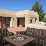 Splendid Outdoor Seating Areas,  BW Plus Inn of Sedona, AZd