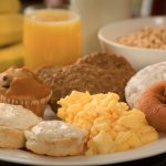 Enjoy a full hot breakfast and 24 hour coffee/tea