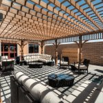 Outdoor Sundeck with Complimentary Grill for Hotel Patrons