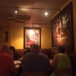 Small, quiet, darkly lit restaurant with excellent Italian food.