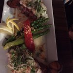 Poached Lobster Tails - Two lobster tails with lemon thyme cream sauce
