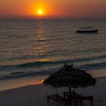 Another beautiful sunset at Manta
