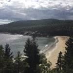 View of Sandy Beach on Great Head Trail
