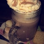Hotel decor + hot chocolate