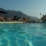 Mountain View from the Pool, Grand Hotel Imperiale, Moltrasio.