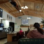 Inside of Ernie's Cafe, South Lake Tahoe