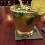 Lemongrass and tamarind mojito