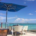 Bar Indigo, la vue sur la mer