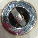 Dirty plug hole in en-suite