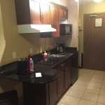 Suit-room and kitchenette