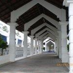 Indgangen til Sultan Abu Bakar Mosque